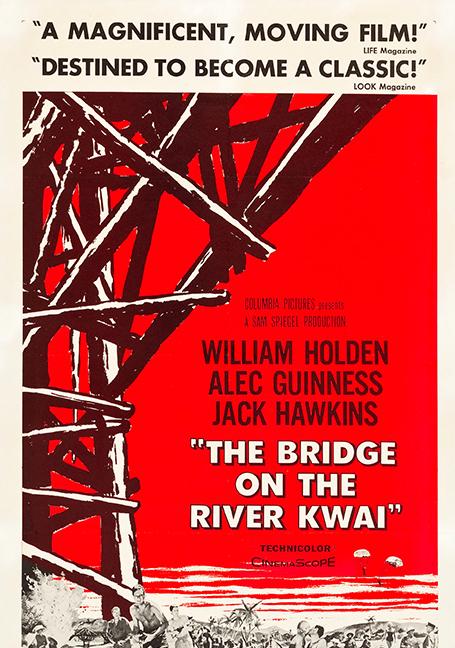 The Bridge on the River Kwai (1957) สะพานเดือดเลือดเชลยศึก