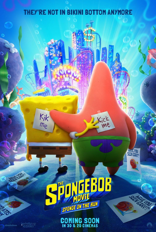 The SpongeBob Movie Sponge on the Run (2020) สพันจ์บ็อบ ผจญภัยช่วยเพื่อนแท้